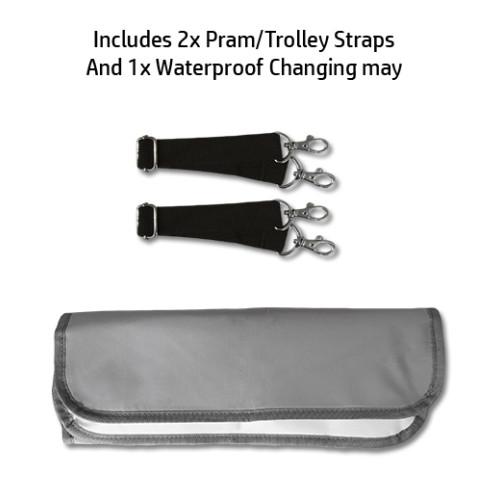 Grey BiddyKins Nappy Backpack