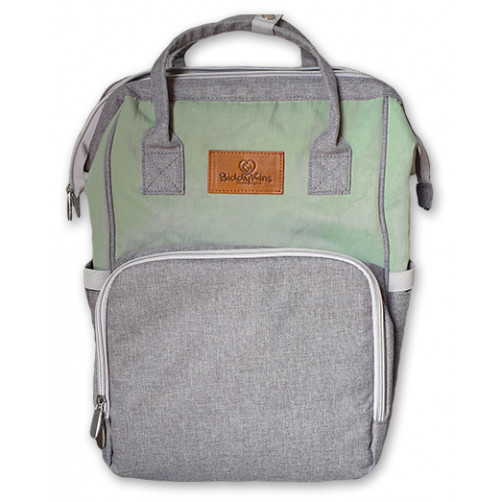 Green-Grey BiddyKins Nappy Backpack