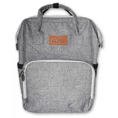 Grey BiddyKins Nappy Backpack
