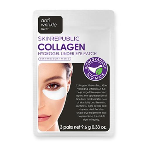 Collagen Hydrogel Under Eye Patch (3 Pairs)