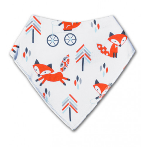 BB030 Orange Tree Foxes Bandana