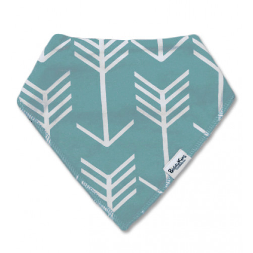 BB032 Green-Grey Arrow Pattern Bandana