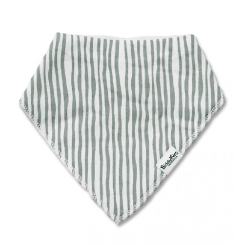 BB035 Grey Vertical Stripes Bandana