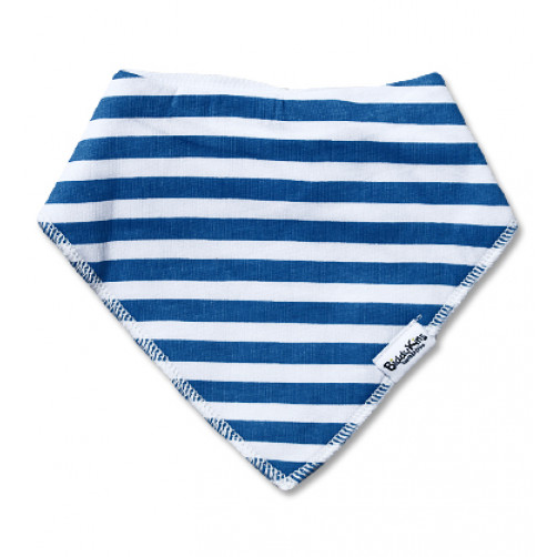 BB037 Blue White Stripe Bandana
