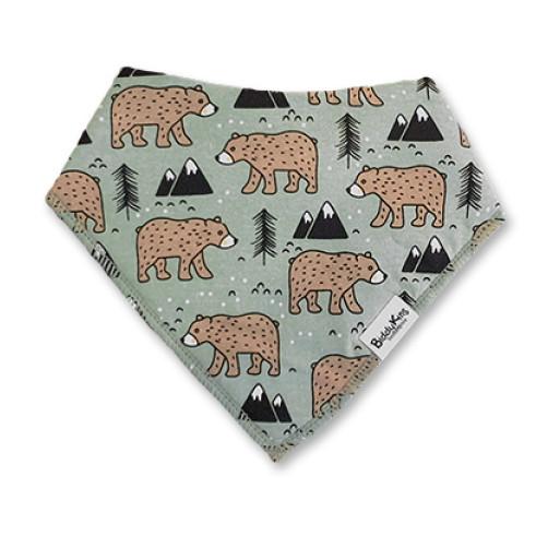 BB049 Bears & Mountains Bandana