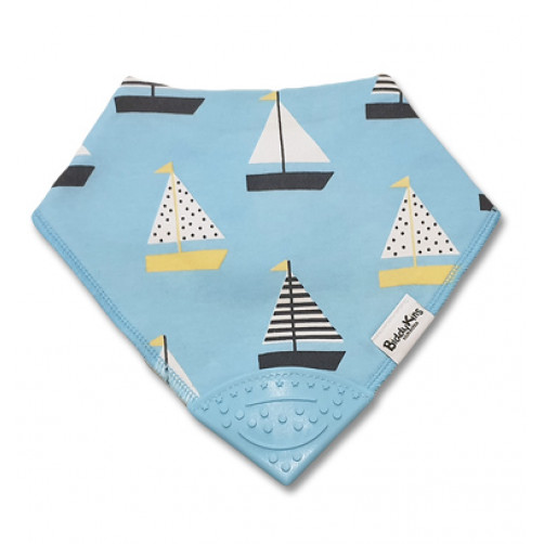 Light Blue Yachts Teether Bib