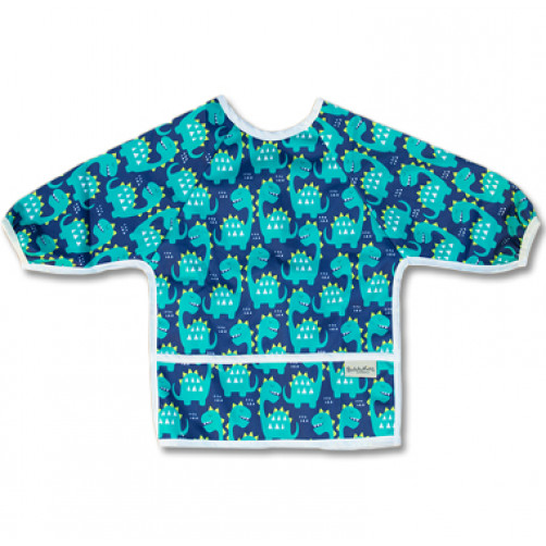LSB006 Dinos Long Sleeve Bib