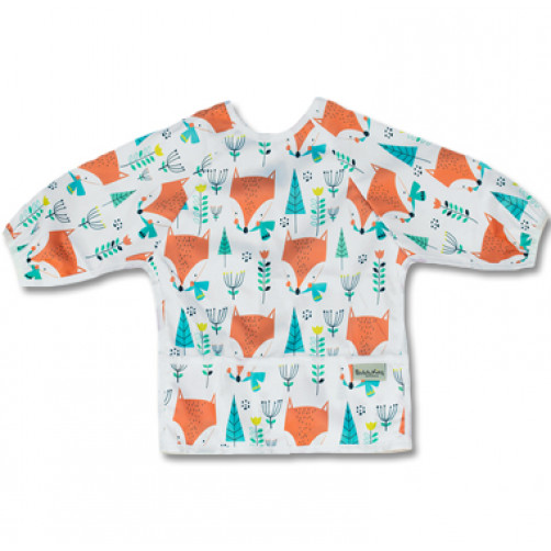 LSB011 Fox in Woods Long Sleeve Bib