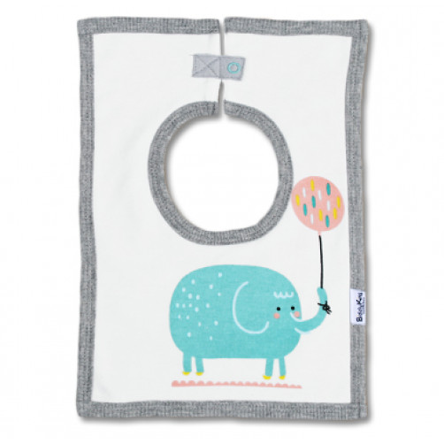 SQB03 Ellie & Balloon Square Bib