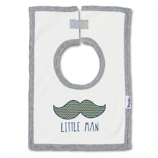 SQB04 Little Man Square Bib