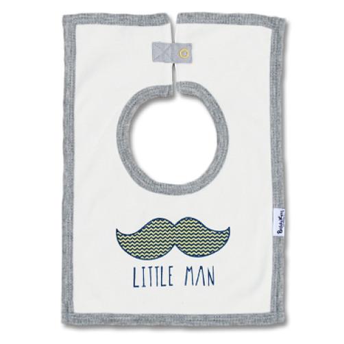 SQB04 Little Man Square Bib