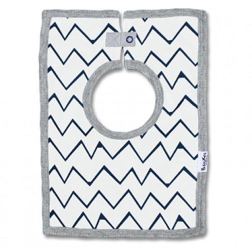 SQB05 Navy Chevron Square Bib