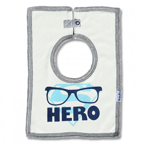 SQB06 Super Hero Square Bib