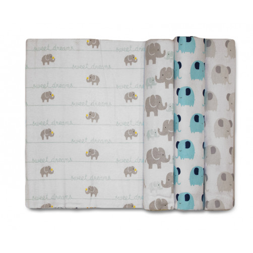 Size (L) Sweet Dreams Ellies Blanket Set