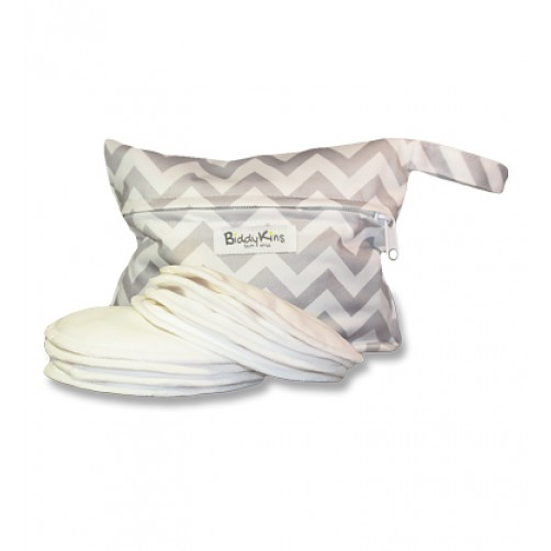 BiddyKins Breast Pads (White)