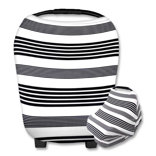 CC008 White Black Stripes Carrier Cover