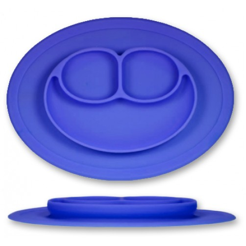 ST001 Dark Blue Silicone Placemat