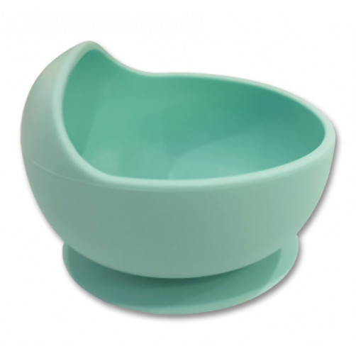 Aqua Small Suction Bowl with Lip