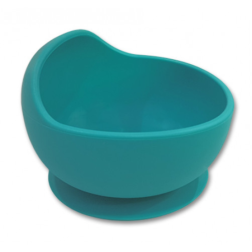 Turquoise Small Suction Bowl with Lip