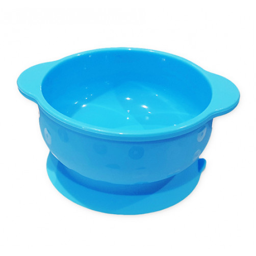 Blue Small Suction Bowl