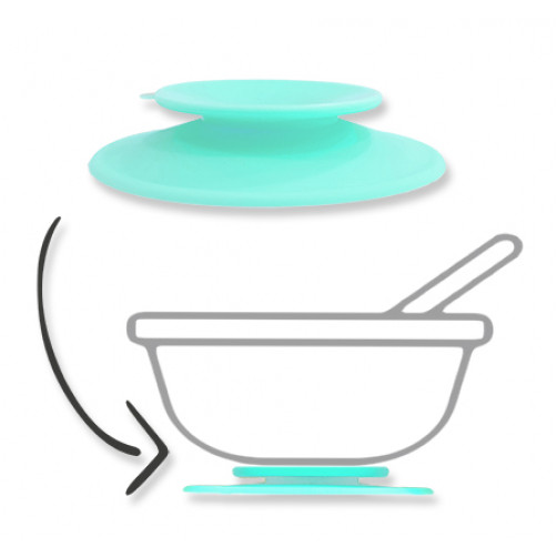 Aqua Silicone Suction Adapter