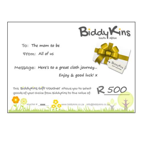 BiddyKins Gift Voucher