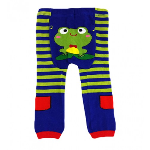 LGL002 Green Stripe Frog Large