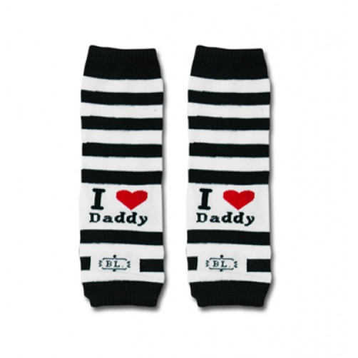 LW012 I Love Daddy Leg Warmers