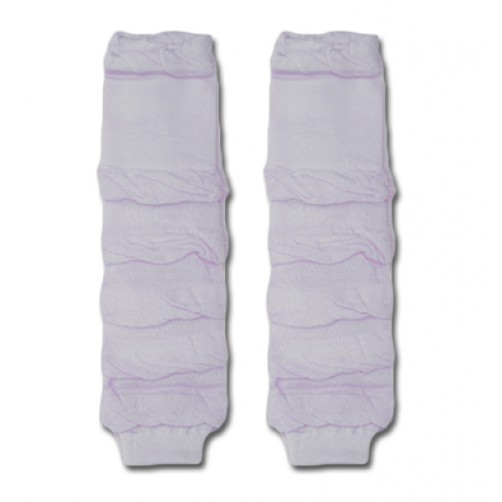 LW018 Puffy Lilac Leg Warmers