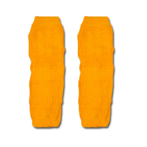 LW026 Dark Yellow Leg Warmers