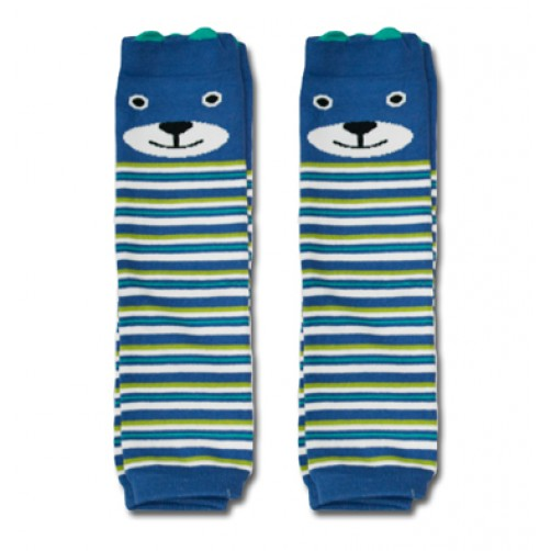 LW027 Blue Green Seal Leg Warmers