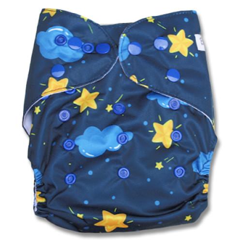F105 Blue Clouds Yellow Stars Ai1