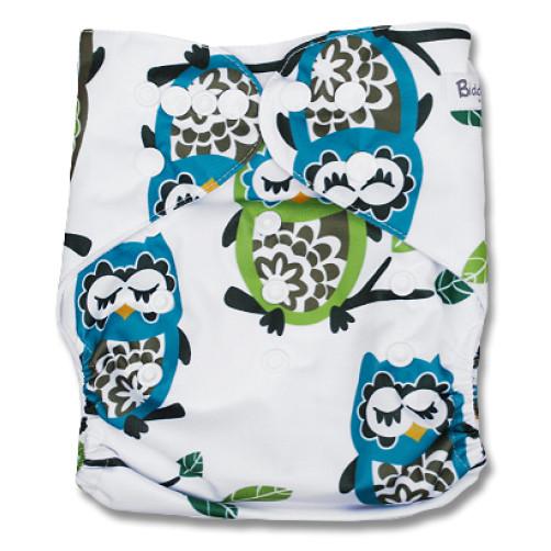F106 Green Blue Sleepy Owls Ai1