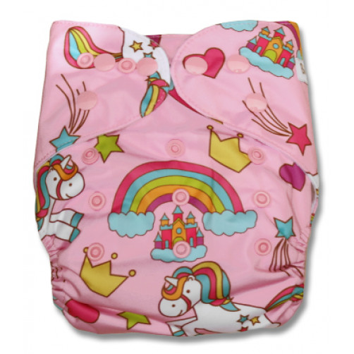 F121 Pink Unicorns Rainbows Ai1