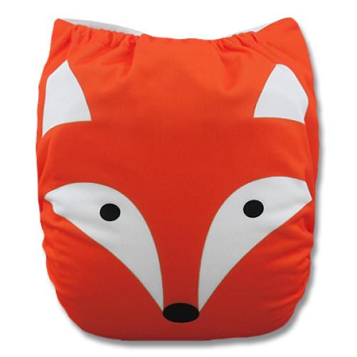 F504 Orange Fox Face Ai1