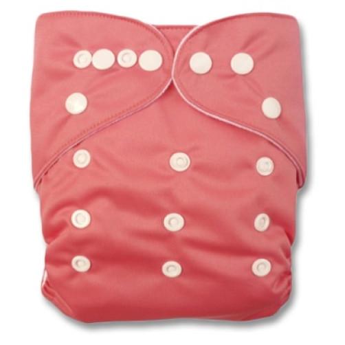 CH005 Plain Peach Pink Charcoal Pocket