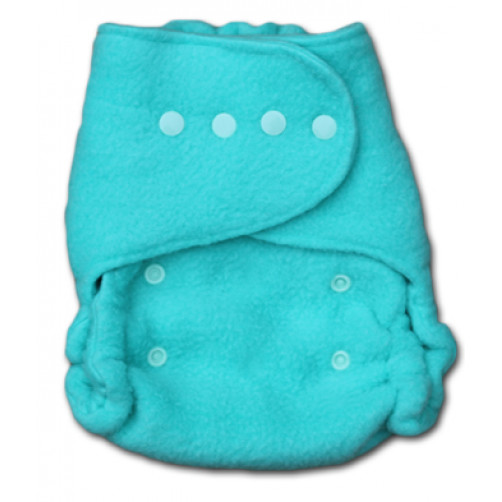 NBFL01 Newborn Aqua FLEECE Cover