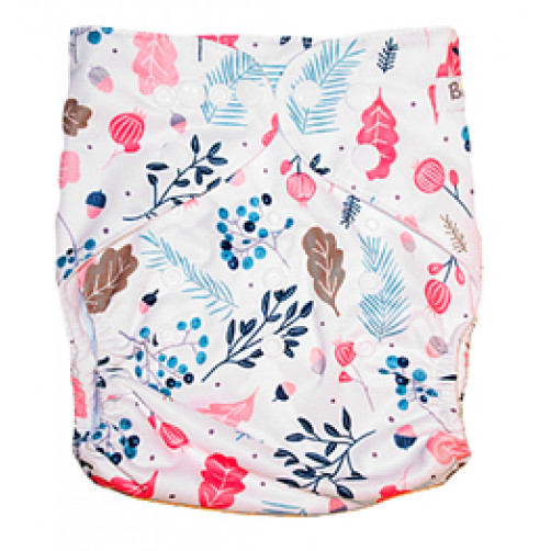 Double Gusset OSFM PUL Cover - Autumn Berries