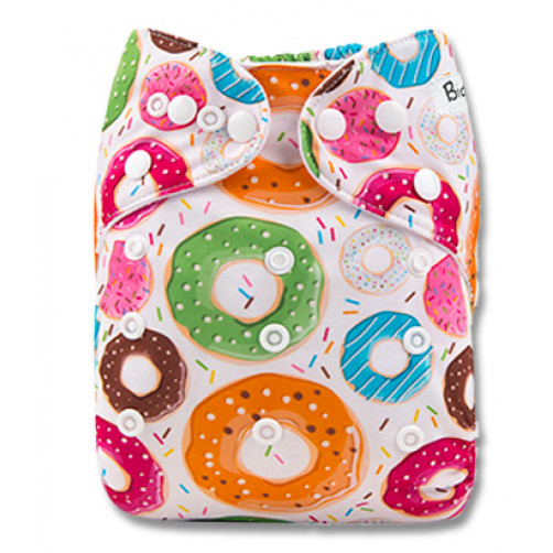 PC086 Multicolor Donuts PUL Cover