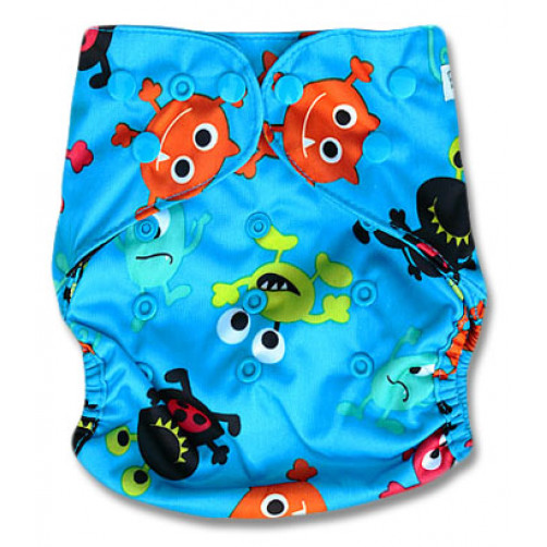 PC022 Blue Monsters PUL Cover