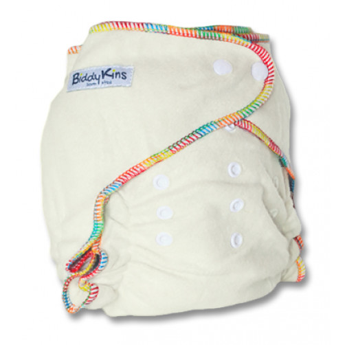 'All-Night' OSFM BAMBOO Fitted Night Nappy