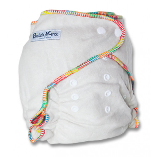 'All-Night' OSFM HEMP Fitted Night Nappy