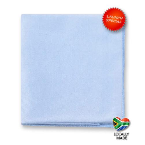 50cm SlimFit Cotton Flat - Light Blue