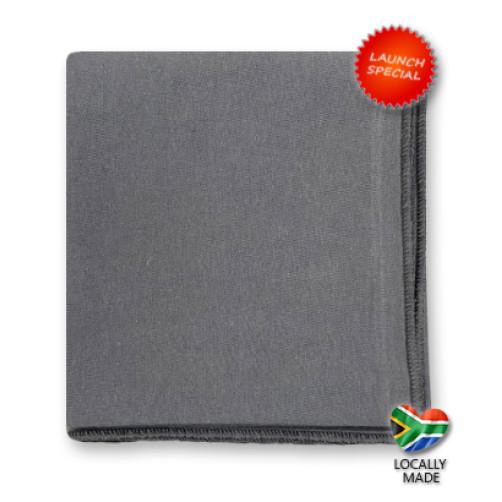 50cm SlimFit Cotton Flat - Grey