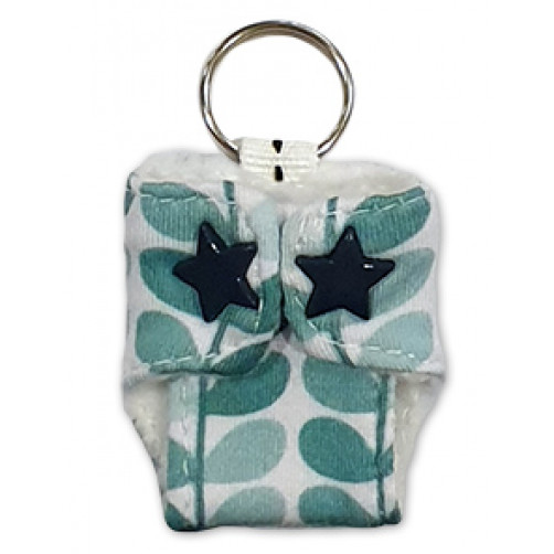 Green Leaves Keyring