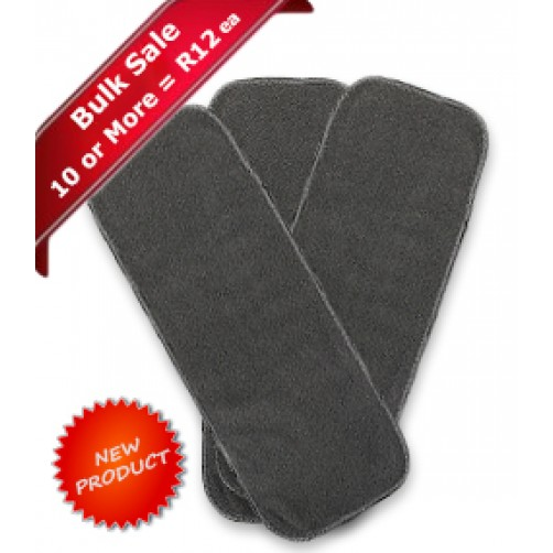 Charcoal Bamboo Washable Fleece Liner