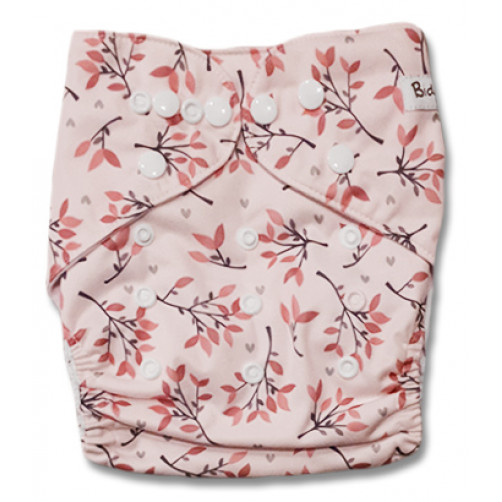 H118 Pink with Leaves & Twigs NBAi1