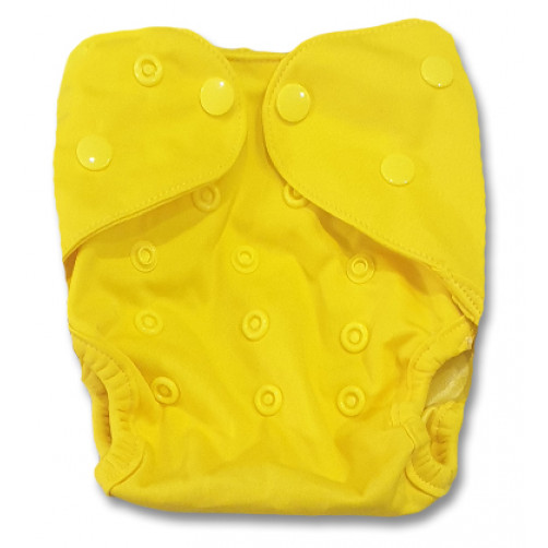 NbDG06 Bright Yellow Newborn Cover Double Gusset