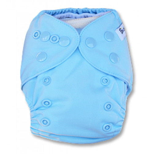 I004 Light Blue Newborn Cover PUL