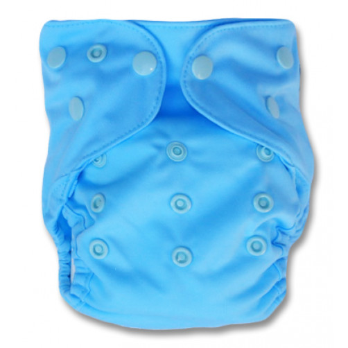 NbDG04 Light Blue Newborn Cover Double Gusset